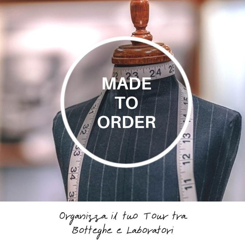 Organizza il tuo tour personalizzato tra botteghe e laboratori di artigiani made in italy a Roma Milano e Firenze